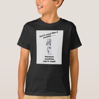 Zombies Can't Read T-Shirt