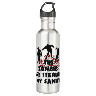 Zombies - choose color 710 ml water bottle