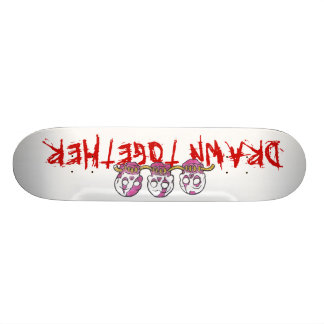Zombies, Drawn Together Skate Board