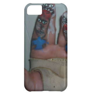 Zombies Eating Brains Funny Zombie Fingers Painted iPhone 5C Case