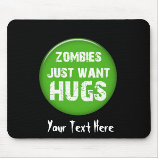 zombies Halloween goodies Mouse Pad