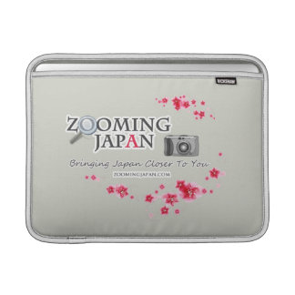 Zooming Japan Logo for Japan Lovers MacBook Sleeve