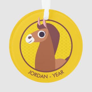 Zora the Horse Ornament